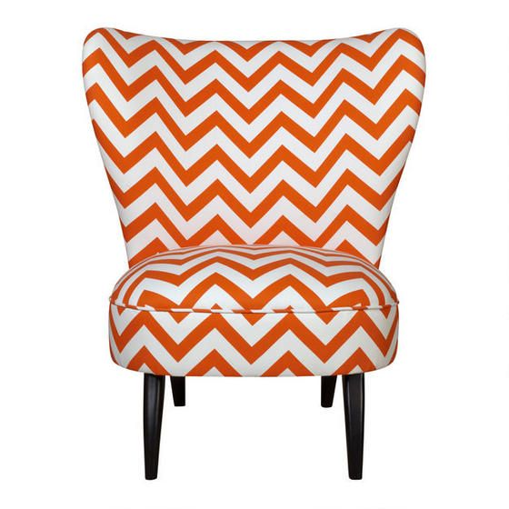 Avi Accent Chair - Orange