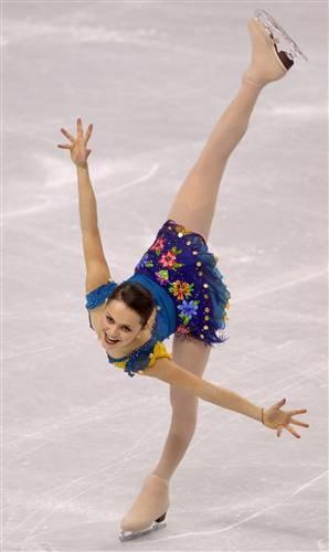 Sasha Cohen Spiral  FIGURE SKATING -- Arabesque spiral 2006 Winter Olympic by tanya77761, via Flickr