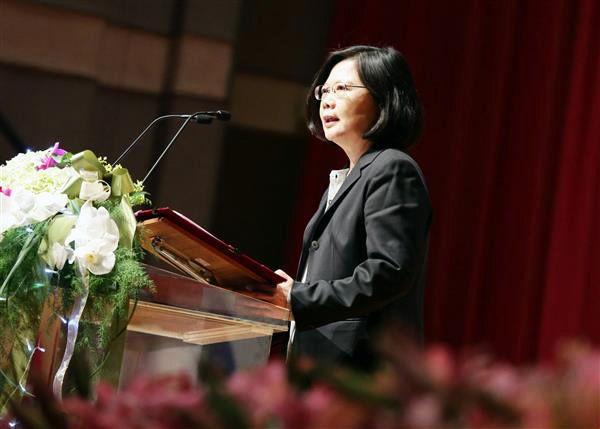 Tsai Ing-wen, Lin Chuan Speak at CNFI 70th Birthday Bash