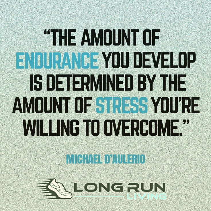 The amount of endurance you develop is determined by the amount of stress you're willing to overcome   running quotes     quotes for runners     motivational quotes     inspirational quotes     quotes   #quotes #runningquotes #motivationalquotes #trailrunning https://www.longrunliving.com/