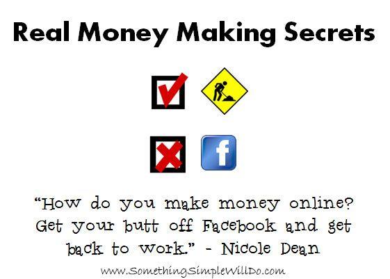 Real money making secrets