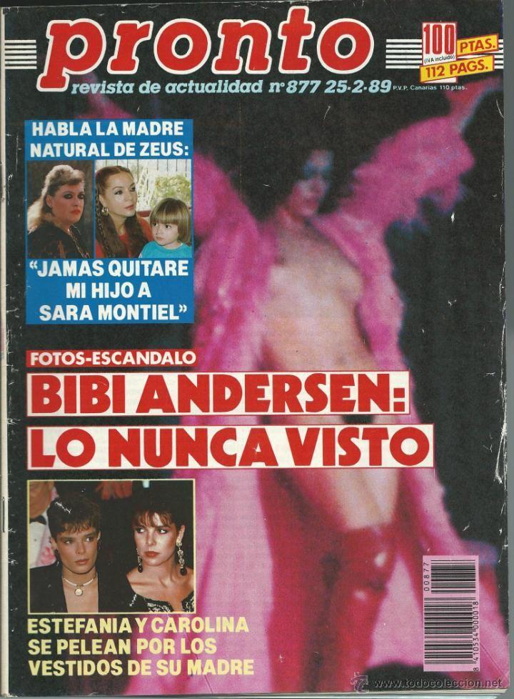 PRONTO WITH BIBI ANDERSEN Unheard Sara MONTIEL -ESTEFANIA AND CAROLINA MONACO…