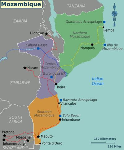 Mozambique-WikiTravel.  A good overall intro to travel in Mozambique