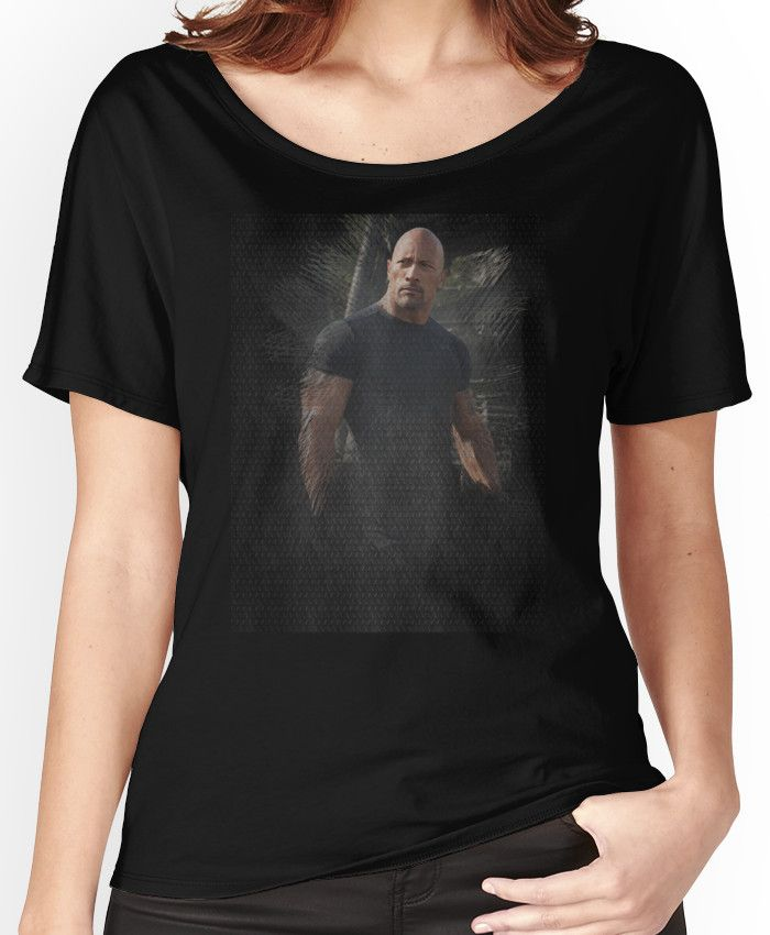Fast Five Hobbs Dwayne Johnson Women's Relaxed Fit T-Shirts