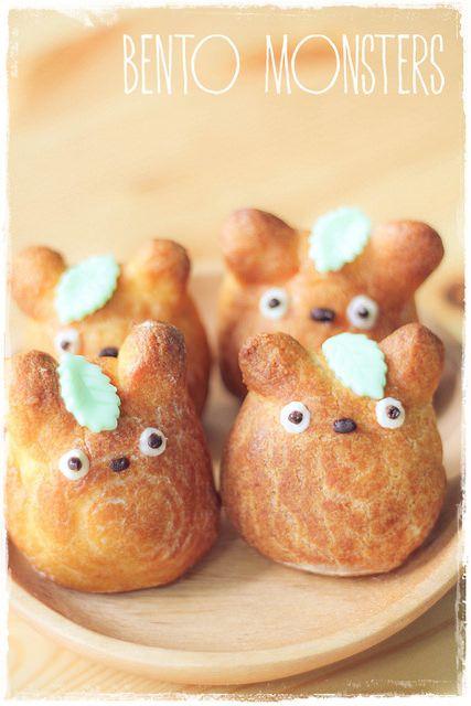 Totoro cream puff recipe