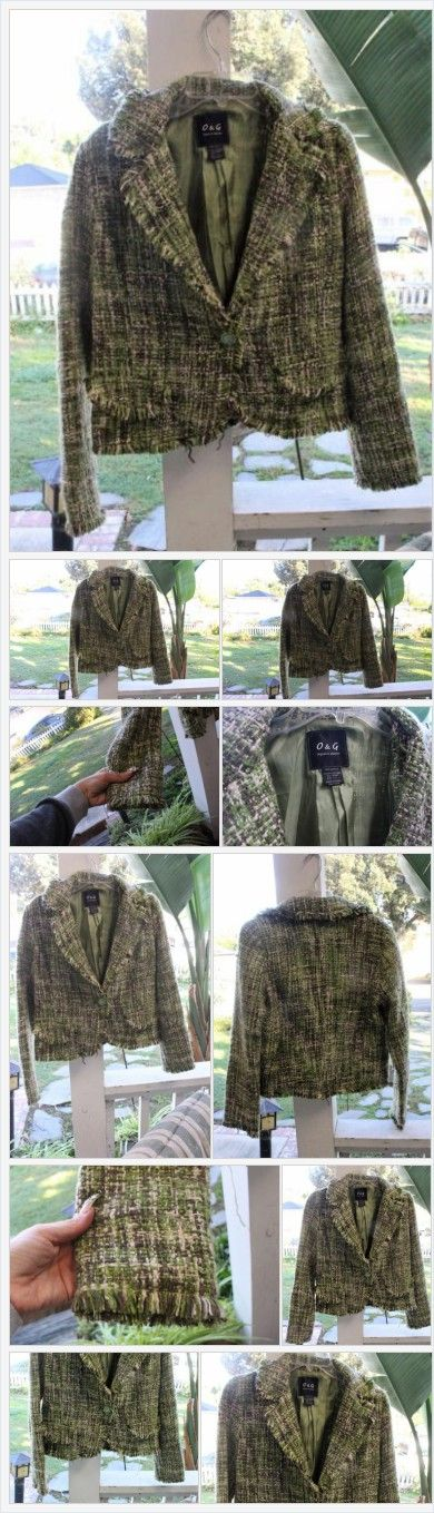 Vintage Women's Suit Jacket Blazer Lined Multi-Color Green Acrylic Large Crystal  | eBay http://www.ebay.com/itm/Vintage-Womens-Suit-Jacket-Blazer-Lined-Multi-Color-Green-Acrylic-Large-Crystal-/232124965152?hash=item360bb9e120:g:VEQAAOSwnbZYD9E0