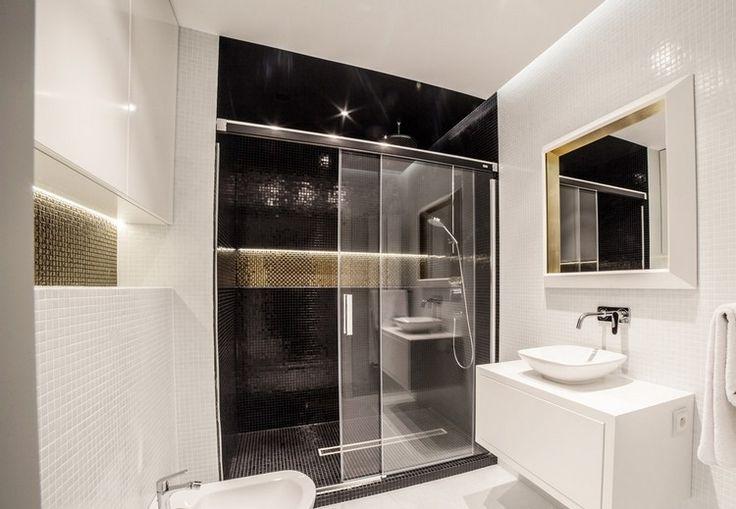 luxus badezimmer modern schwarz ~ ideen für die innenarchitektur, Hause ideen