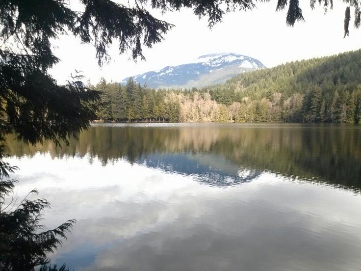 Alice Lake in Squamish BC