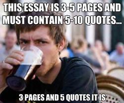 Essay ABOUT crisses?