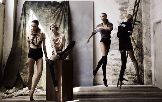 dancer silhouettes for Marieclaire Turkey pfotographer: Ayten Alpun fashion editor: Hakan Ozturk makeup artist: Gulum Erzincan hairstylist: Yildirim Bozuyuk