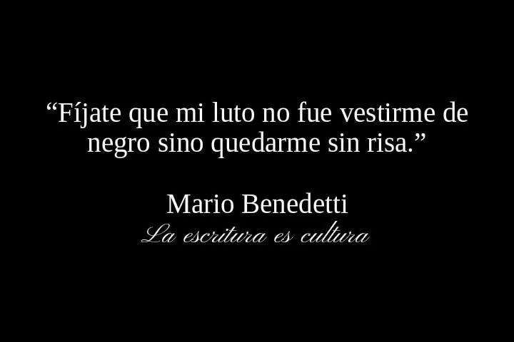 Mario Benedetti.