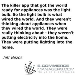 Terrific #quote by Jeff Bezos