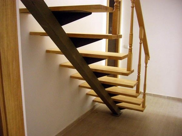 M s de 25 ideas incre bles sobre escaleras de madera - Escaleras de madera pintor ...