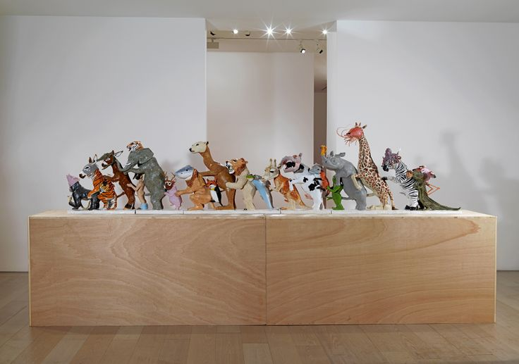 "Bernier/Eliades Gallery | Dionisis Kavallieratos | November 22, 2012 - January 17, 2013 | ""Lets do the Locomotion"", 2012 | Ceramic | 81 x 40 x 330 cm | Photo by Boris Kirpotin"
