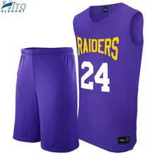 Basketball Uniform Set, Hito Elegant High Quality Custom Sportswear HE-BB-1020