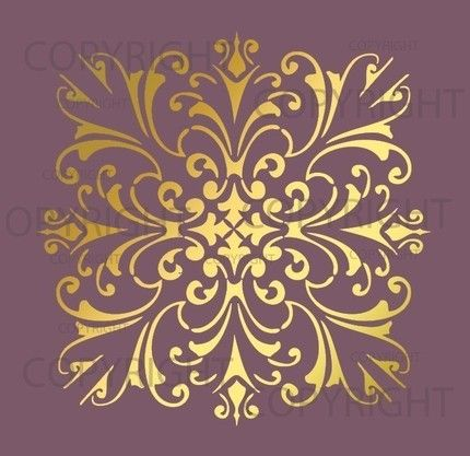 Stencil Designs For Walls 682 best stencils images on pinterest | painting, wall stenciling