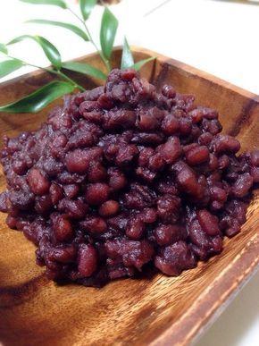 つけ置きなし!!炊飯器で簡単粒あん作ろ♡ by コリーノ [クックパッド] 簡単おいしいみんなのレシピが225万品