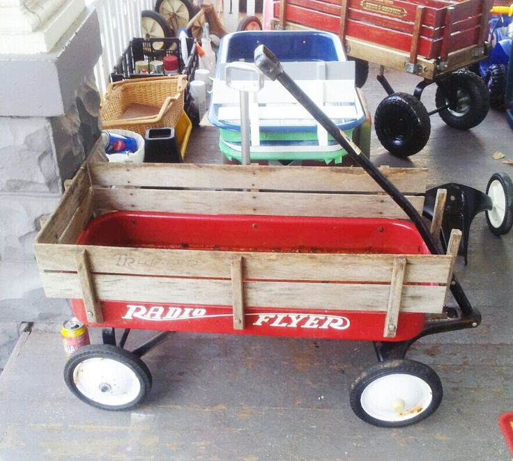 Newly purchased Radio Flyer Traveler early 80's vintage