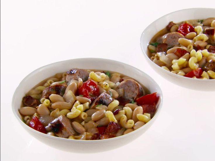 "Grown Up ""Franks and Beans"" recipe from Giada De Laurentiis via Food Network"