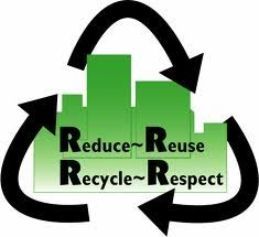 4 R for recycling
