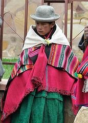 Bolivia.La Paz. Pueblo de Laja