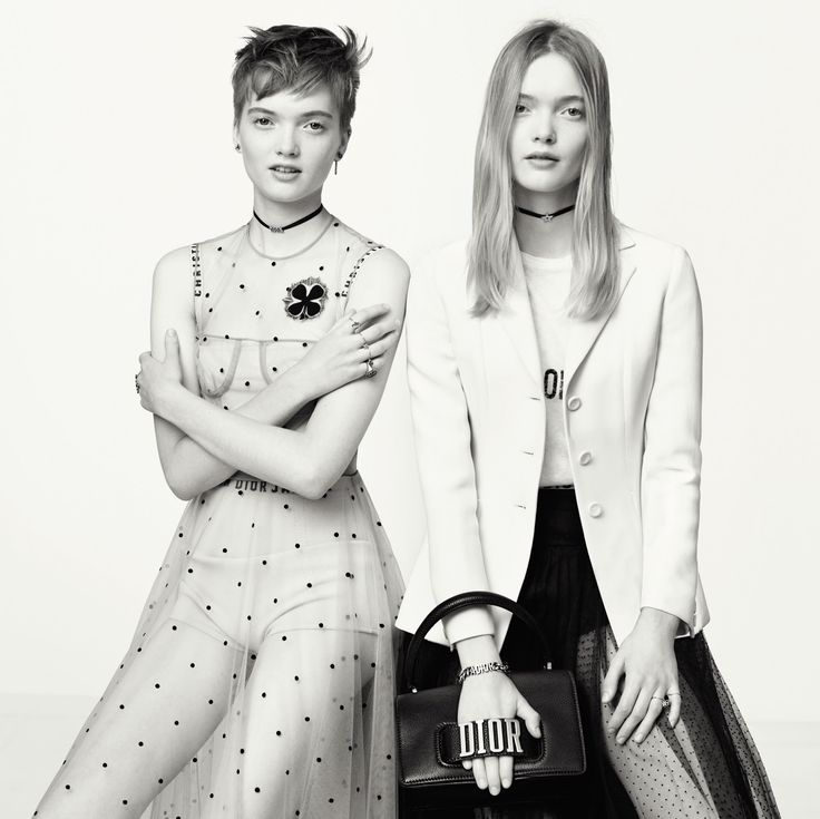 Ruth Bell & May Bell by Brigitte Lacombe for Dior Spring/Summer 2017 Campaign