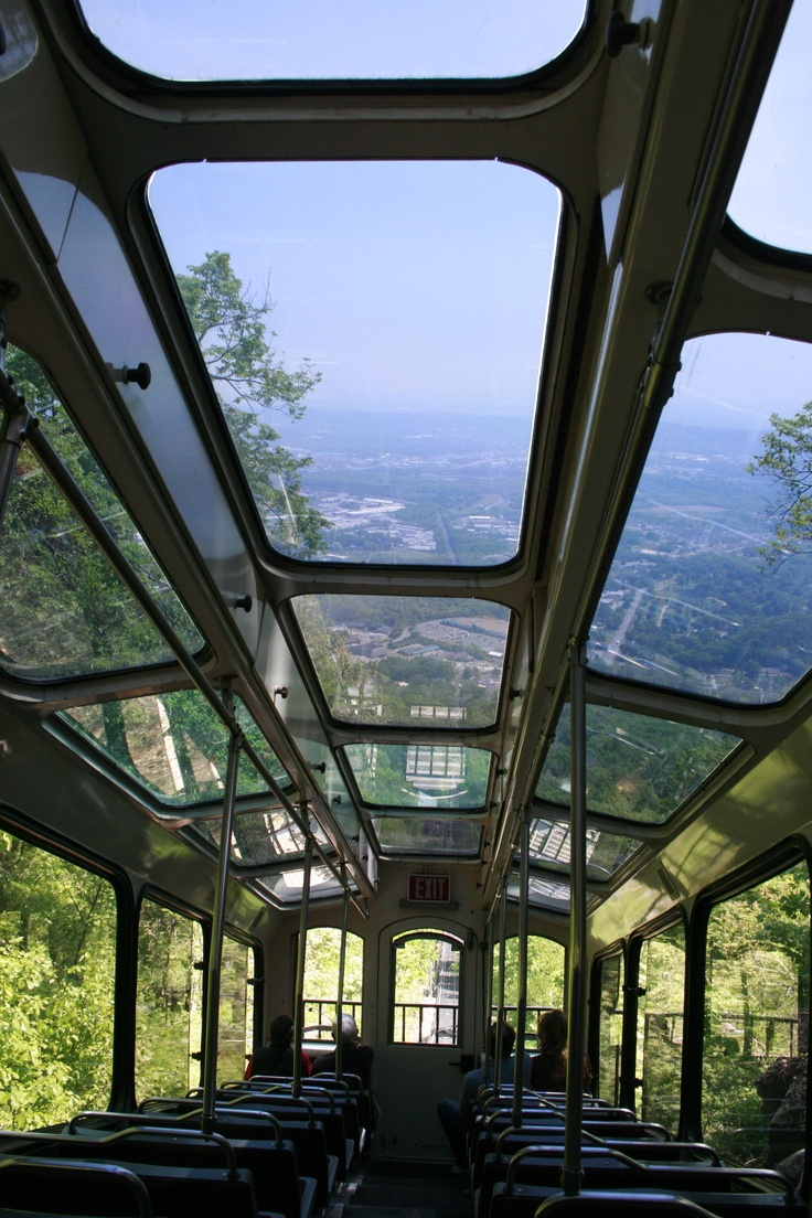 Lookout Mountain incline railway, GA: Incline Railway, Lookout Mountain, Ga Awesome, Memphis Nashville Tennessee, Cars, South, Chattanooga Fun, Mountain Incline