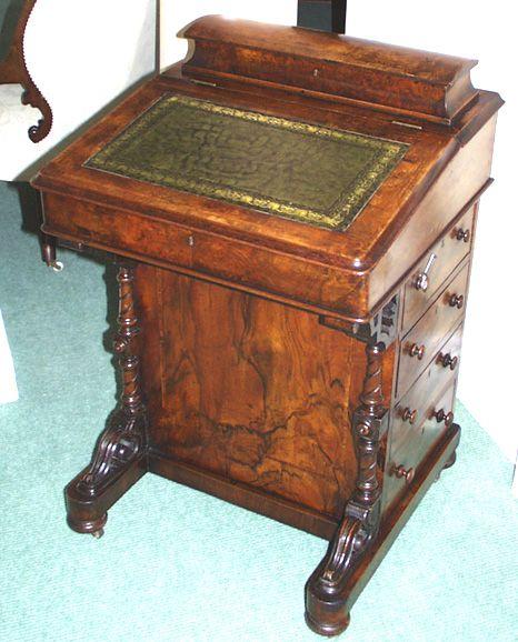 Traditional Davenport Desk Davenport Pinterest Desks Traditional And Antique Desk