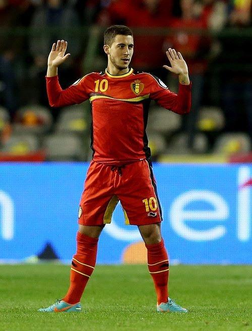 Eden Hazard. Belgium national team.