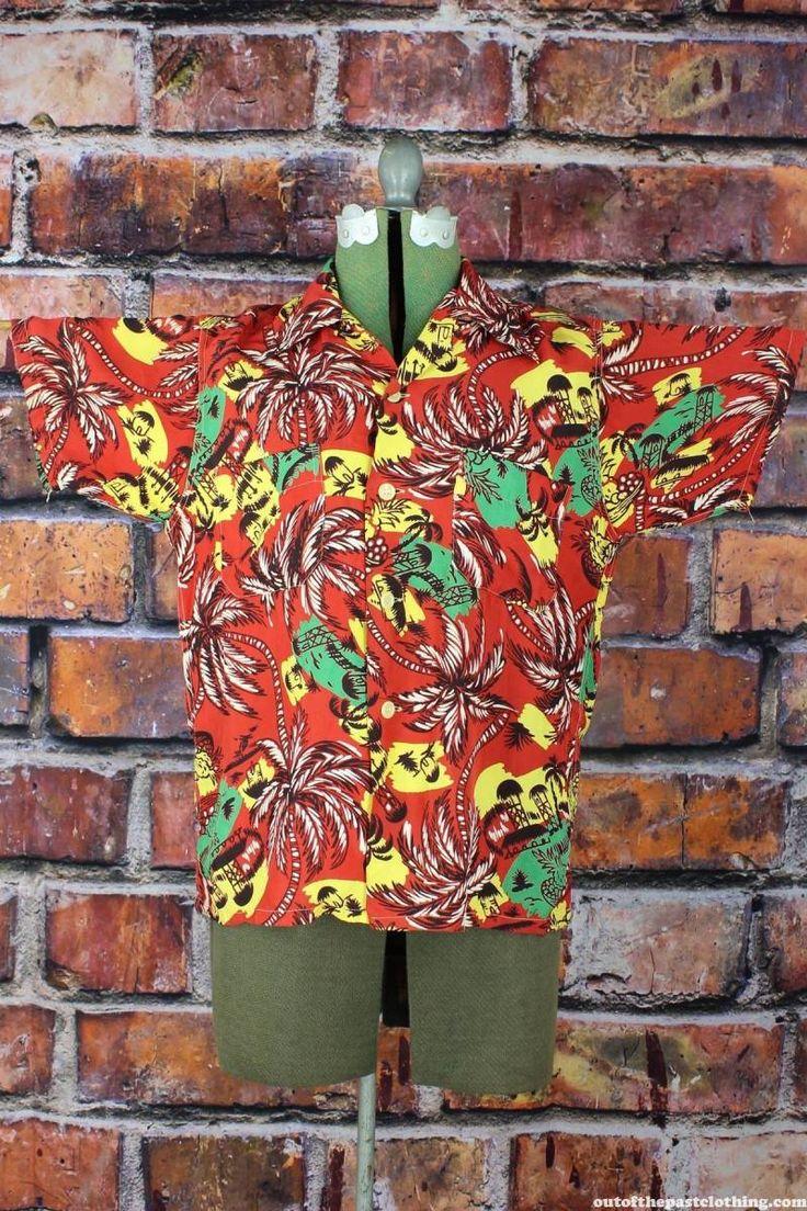 Pennleigh Vintage 1950s Aloha Hawaiian Shirt