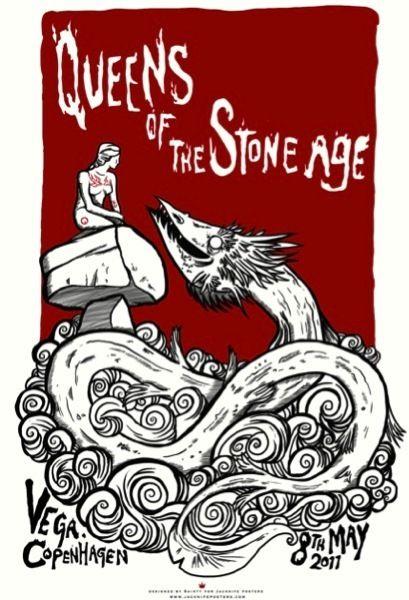 O site Gig Posters é um verdadeiro museu de flyers do rock alternativo. Na página, é possível conhecer um pouco da história recente do rock pelas filipetas de shows.
