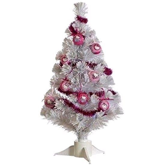 #HelloKitty 60 cm PVC/Mild Steel/Copper #Fiber #Optic #Christmas #Tree with #Decor