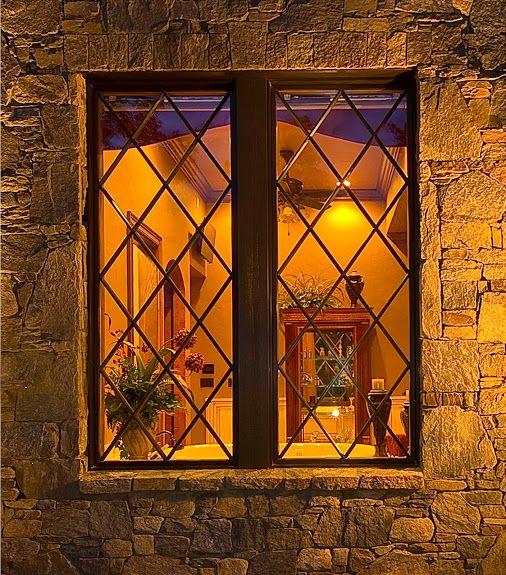 #WindowWednesday! Charming diamond pane Windsor windows reveal the warmth within this lovely Asheville, NC home. #windsorwindows www.windsorwindows.com Windsor Windows & Doors - Google+