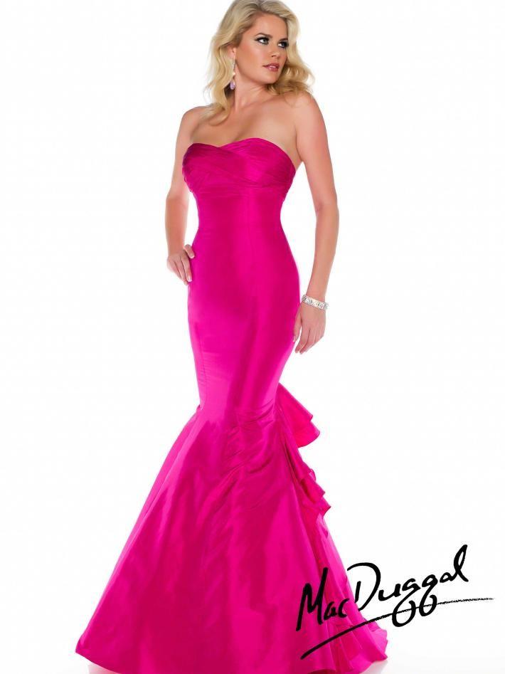 Lujo Mac Duggal Sirena Vestido De Fiesta Embellecimiento - Ideas de ...
