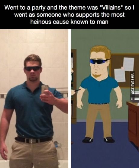 PC Principal from South Park is the real villain!