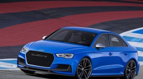 Audi A3 Clubsport Quattro concept sedan with 525 PS unveiled | RushLane Indian Cars Bikes News Reviews & Photos