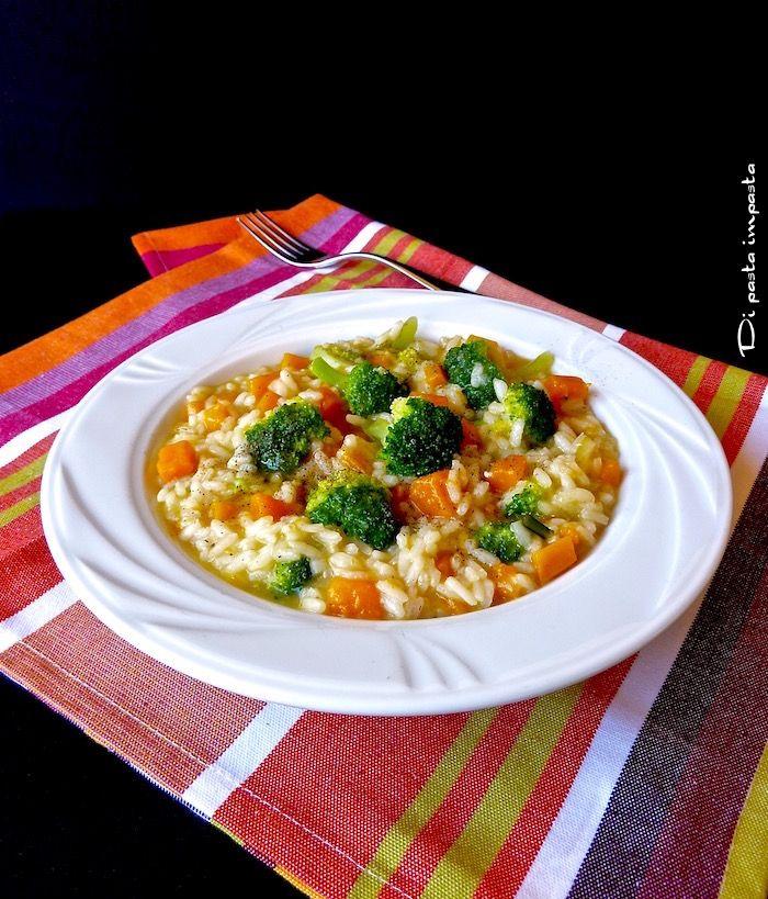 Di pasta impasta: Risotto con zucca e broccoli