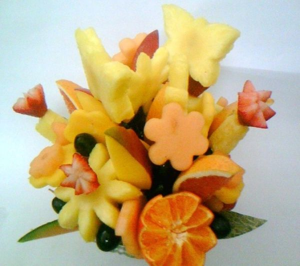 Fruit Bouquet of spring flowers by TamidP