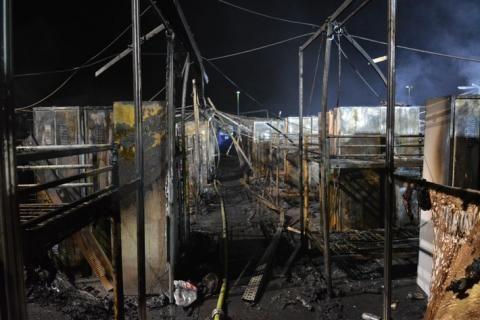 Feuer zerstört Flüchtlingsunterkunft in Gelsenkirchen | Top24News Portal