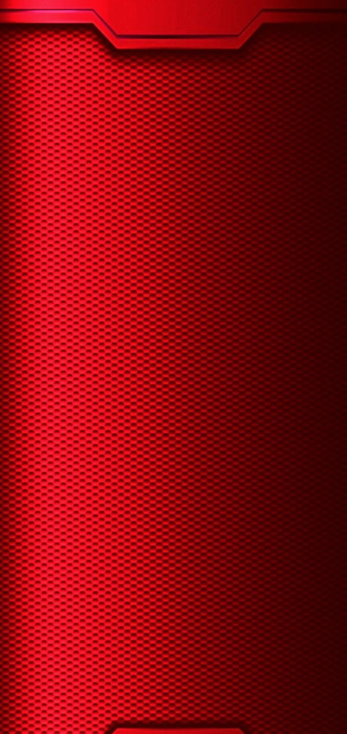 Oppo F7 Red Background And Notch Area 1080x2280