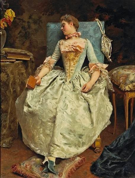 GUSTAVE JEAN JACQUET  (Paris, França, 25 de maio de 1846 – Paris, França, 1909)