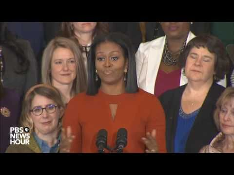 Michelle Obama's Final Speech As FLOTUS Has Us (and Her) in Tears | Brit + Co