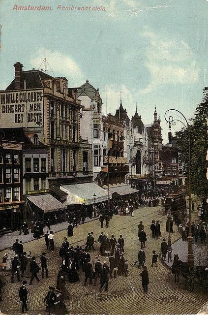 Amsterdam, Rembrandtplein 1909