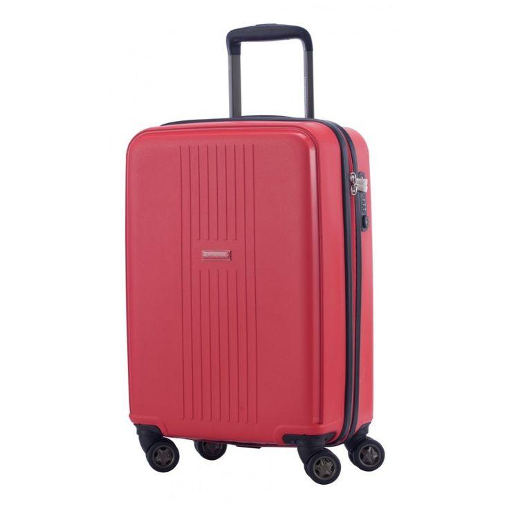 """F-Hain - Handgepäck Hartschale Rot matt, TSA, 55 cm, 37 Liter;  Roter #Rollkoffer aus der Serie """"F-Hain"""" von #Hauptstadtkoffer.  #Hartschalenkoffer #Handgepäck #Cabinsize #Boardtrolley #Rot #Rollkoffer #Trolley #Koffer #Travel #Luggage #Reisen #Urlaub #red #rouge => mehr Rote Koffer: https://hauptstadtkoffer.de/de/catalogsearch/result/index/?color=26&limit=90&q=Rot"""