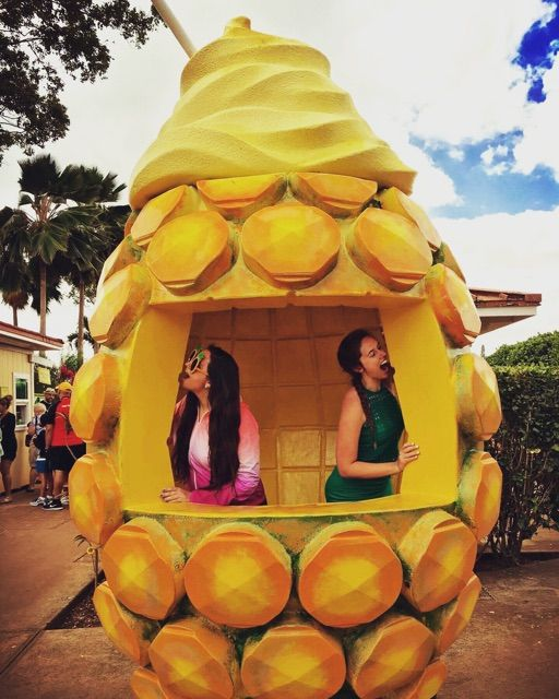 Dole Plantation, Oahu, Hawaii  #DoleWhip #Oahu #Hawaii #Food #Pineapple #Travel #Explore #Wanderlust