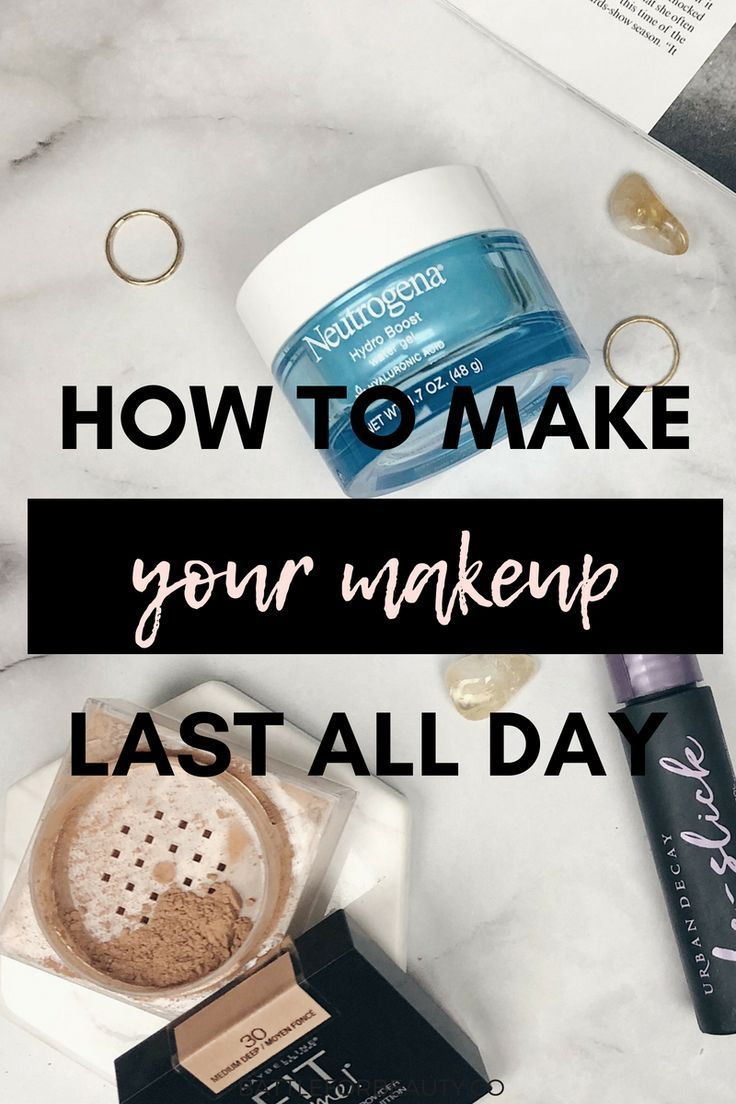 Need some tips on making your makeup last ALL day? Check out this sweat proof makeup tutorial that has gotten me through workouts, classes, you name it!!