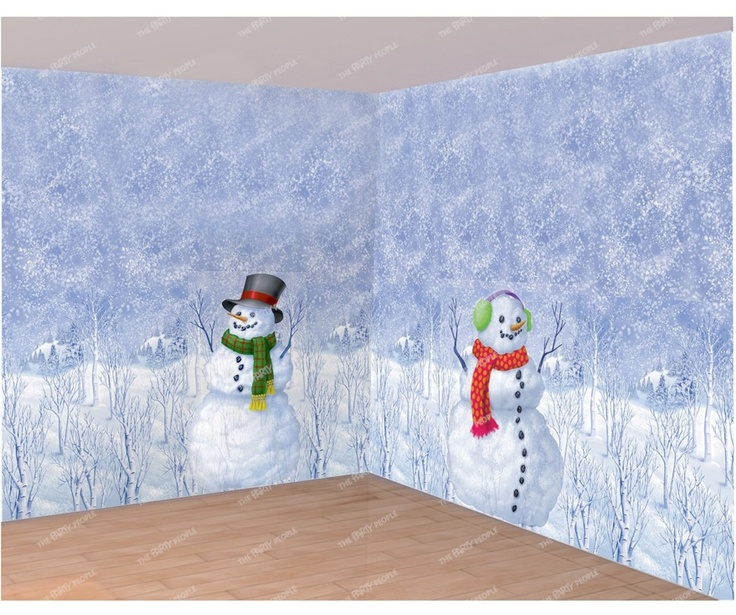 Image detail for -Scene Setters, Room Rolls - Winter Wonderland | The Party People