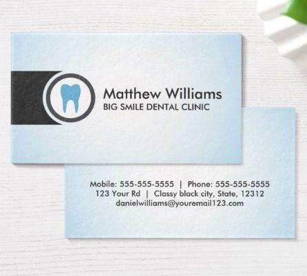 36 best Dental business cards images on Pinterest | Dental ...