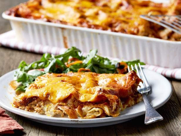 Get Ree Drummond's Chicken Enchilasagna Recipe from Food Network