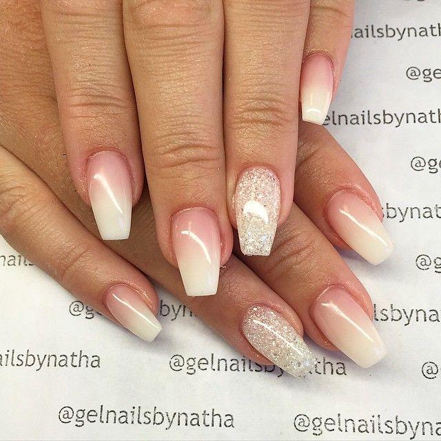 best 25 ballerina nails shape ideas on pinterest